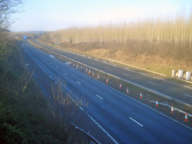 All quiet on the M50