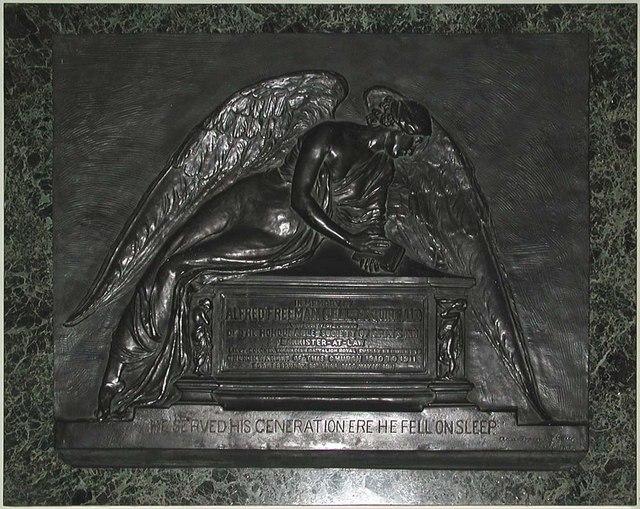 St George, Bloomsbury Way, London WC1 - Memorial
