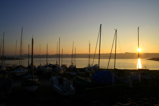 Sunrise over Carsington Water