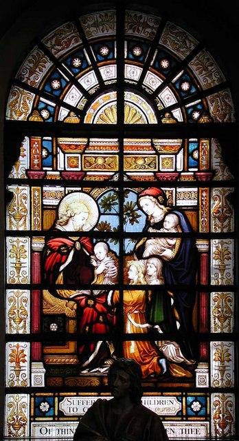 St George, Bloomsbury Way, London WC1 - Window