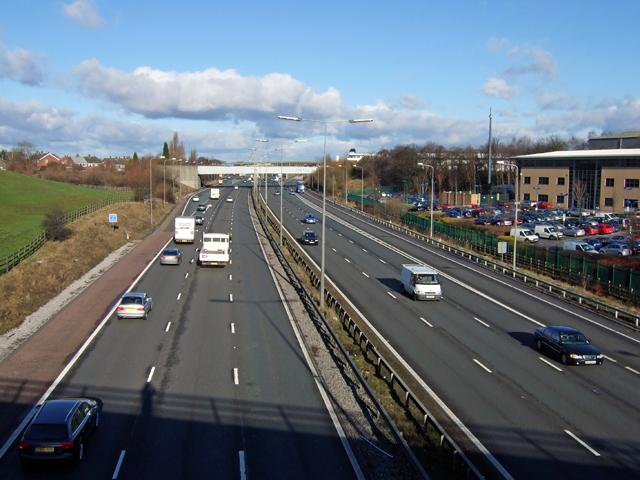 M60 Motorway.....Looking North