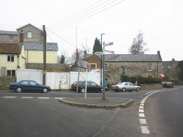 Road Junction, West Shepton