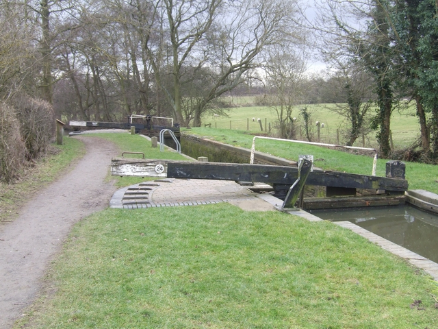Lapworth Locks - Lock No. 24