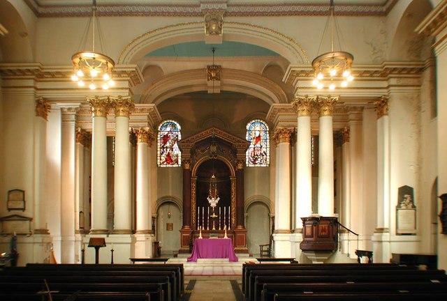 St George, Bloomsbury Way, London WC1 - East end