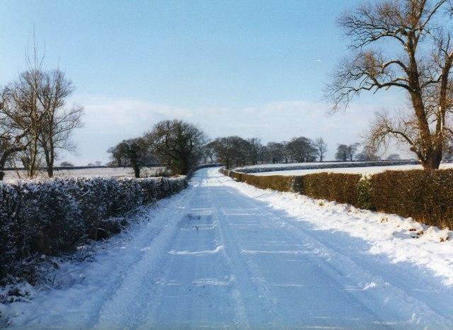 Road to Radbourne