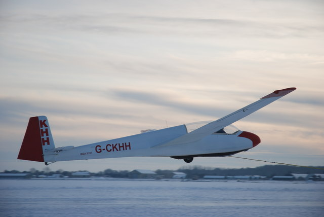 Winter Gliding at Strubby