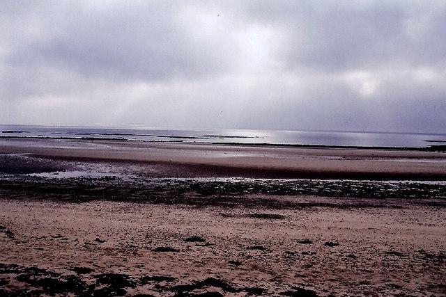 Douglas - Central Promenade beach in morning