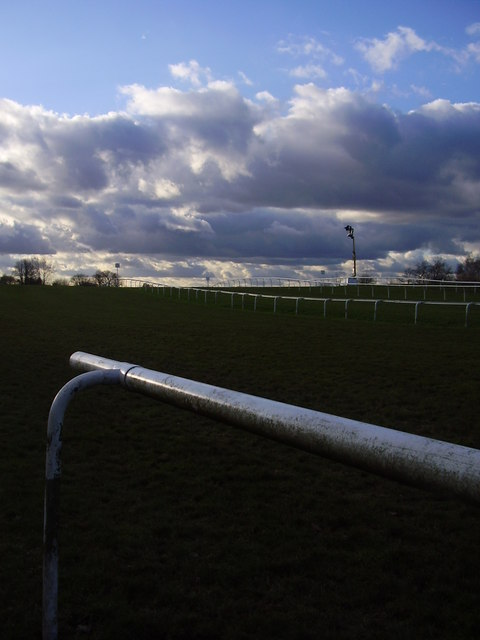 The hill on Doncaster  racecourse.