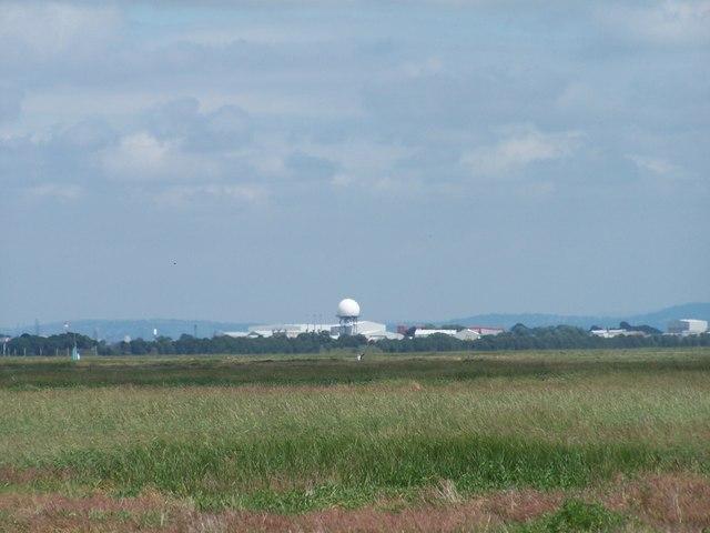 BAe Radar Dome, Warton Aerodrome