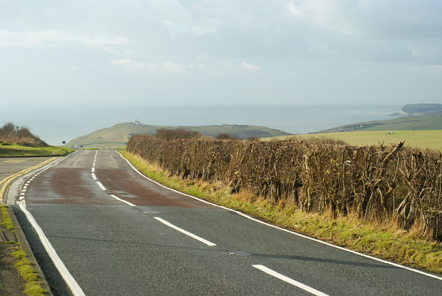 Road on Beachy Head, Sussex