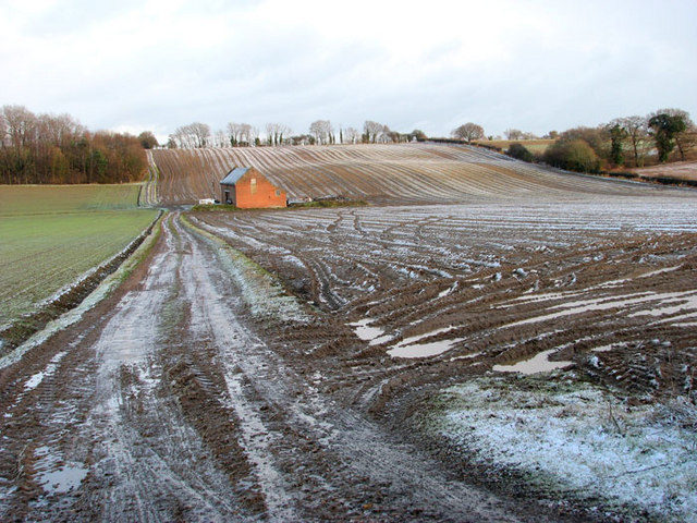 New Barn in winter
