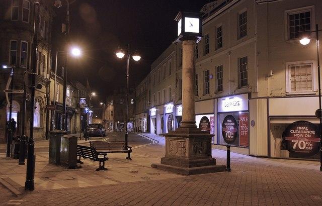 Yeovil: by night