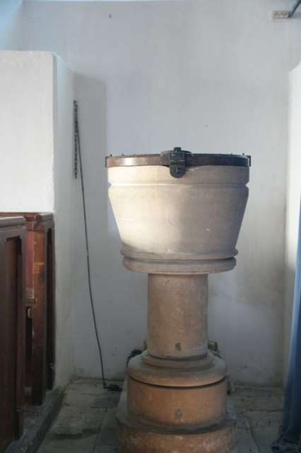 Font with a lock