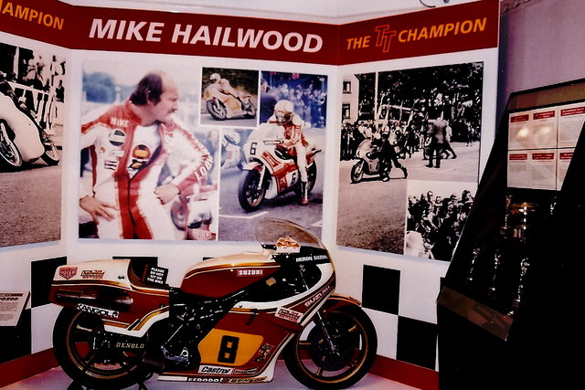 Douglas - Manx Museum - Mike Hailwood exhibit