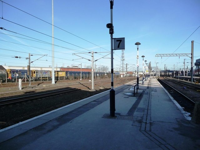Platforms 7 and 8, Doncaster Station