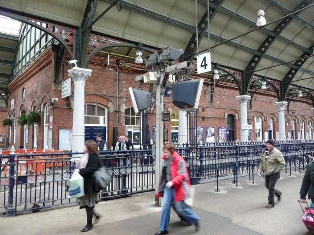 Platform 4, Darlington Station