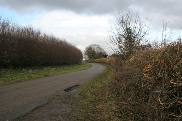 Western perimeter road, Eyebrook Reservoir