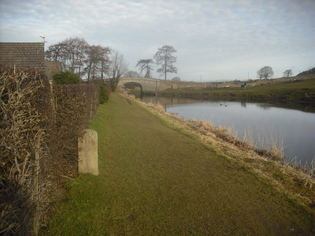 Milestone , Lancaster Canal