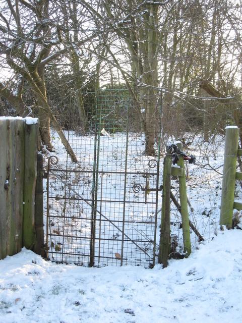 Old gate in Hawarden Park