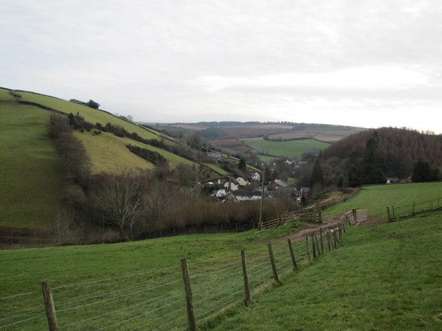 The village of Luxborough