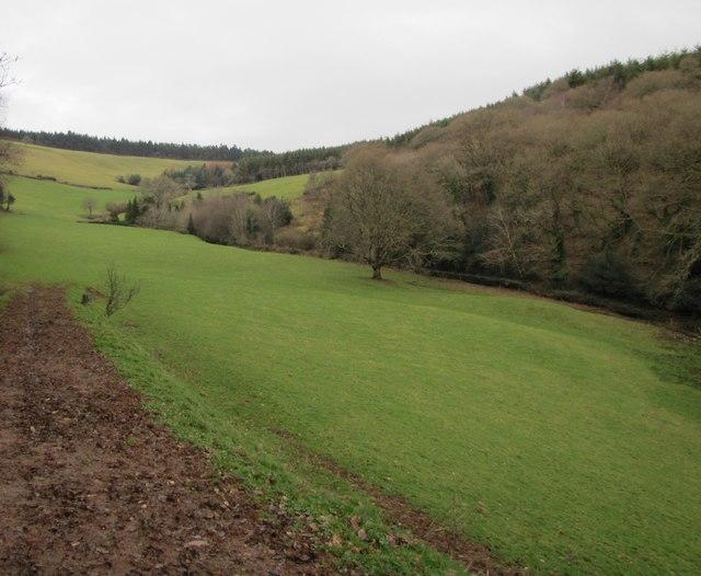 Valley north of Luxborough