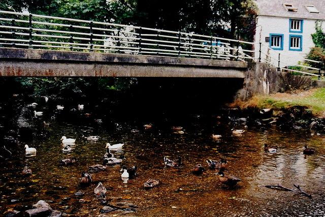 Ballasalla - Mill Road - Footbridge over Silver Burn