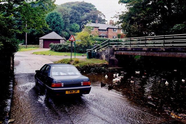 Ballasalla - Mill Road - Ford through Silver Burn River