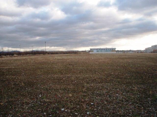 Derelict land awaiting re-development