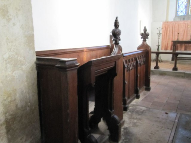 Choir master's stall