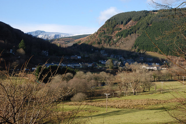 Corris from the south east