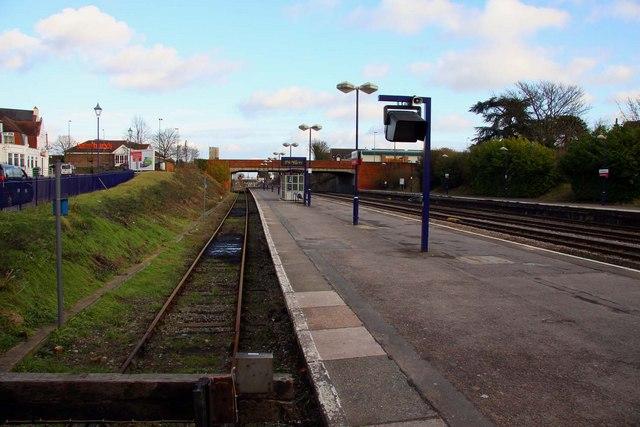 Platform 3 on Newbury Station