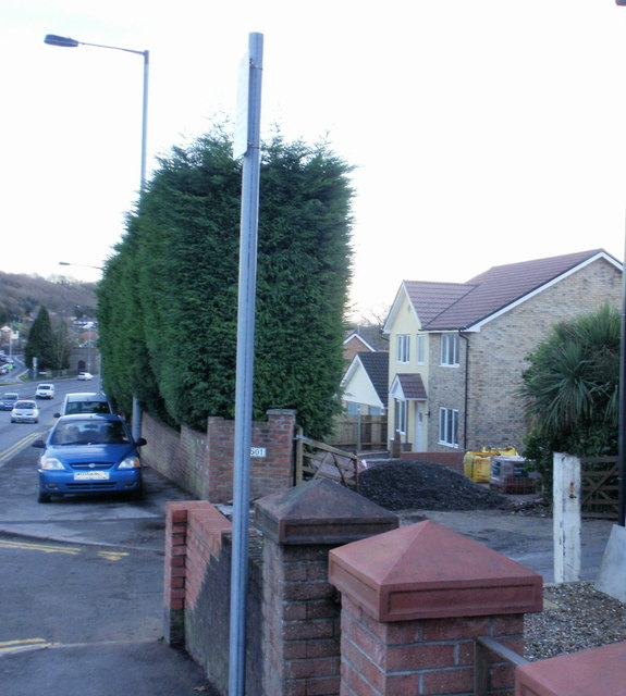 New house, Malpas Road, Newport