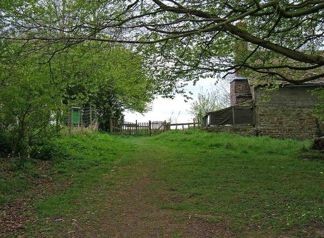 Permissive footpath by Shepherd's Cottage
