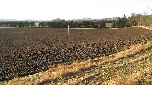 Ploughed field, Baledgarno