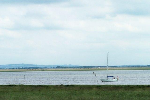Cruising on the Ribble Estuary, near Lytham