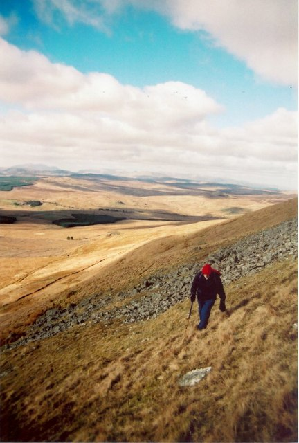 The slopes of Arenig Fawr above Amnodd-Wen
