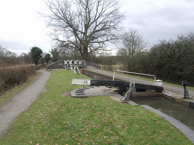 Lapworth Locks - Lock No. 22