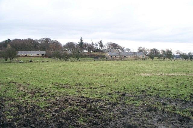 A view across farmland to Beacon Hill