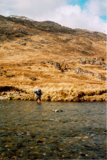 Fording the River Carnach