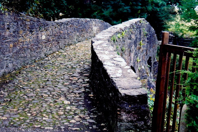 Ballasalla - Monks Bridge over Silver Burn River