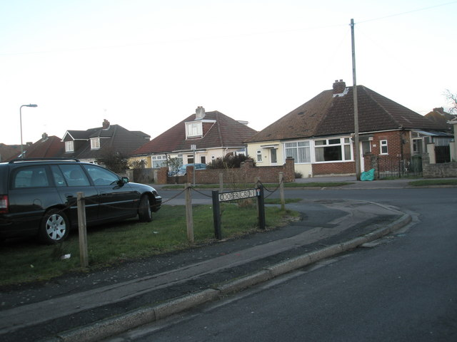 Looking from Cooper Grove into Bayly Avenue