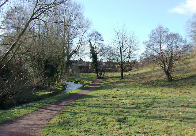Wom Brook Walk at Giggety, Wombourne, Staffordshire