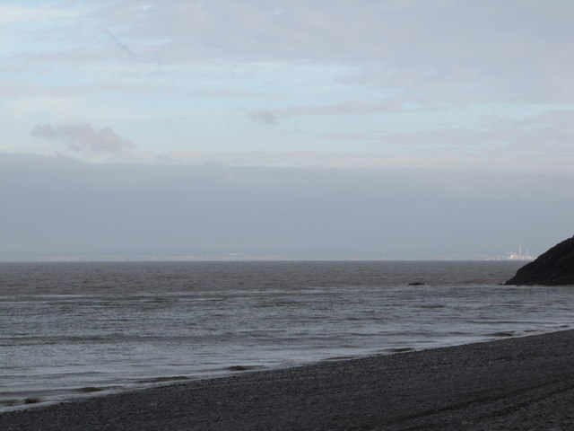 Looking out to sea, Porlock Beach