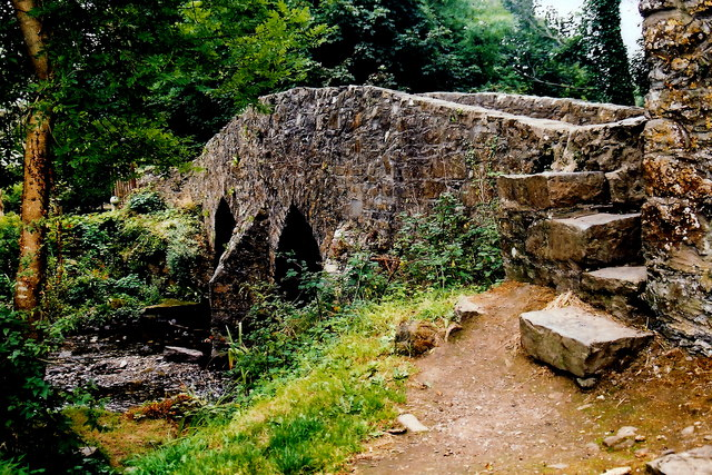 Ballasalla - Monks Bridge over Silver Burn River