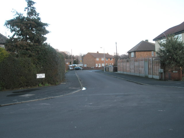 Looking from Bayly Avenue into Castle View Road
