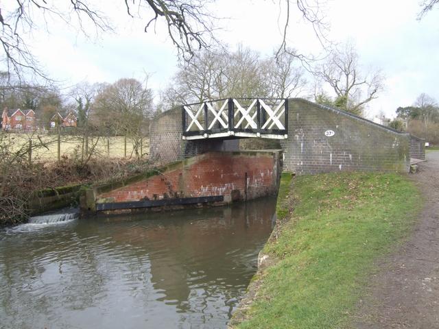 Stratford Canal - Bridge 37A