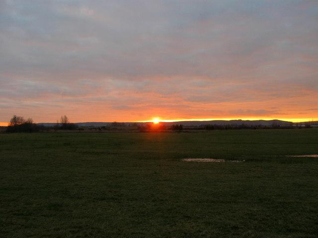 A Brief Glimpse of the Sun