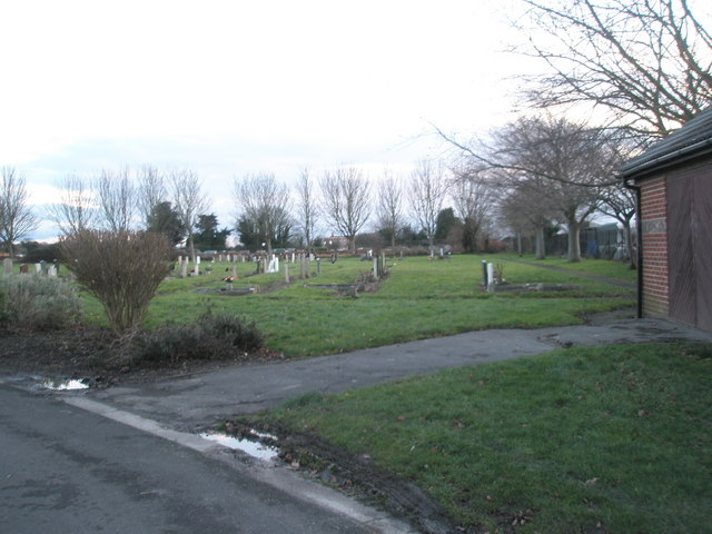 Portchester Cemetery on a January afternoon (1)