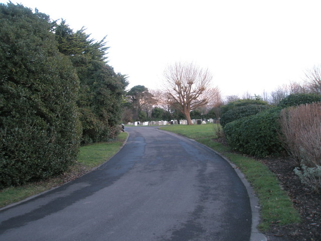 Portchester Cemetery on a January afternoon (2)