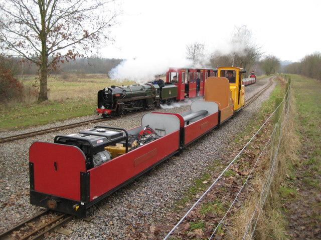Eastleigh Lakeside Steam Railway (1)